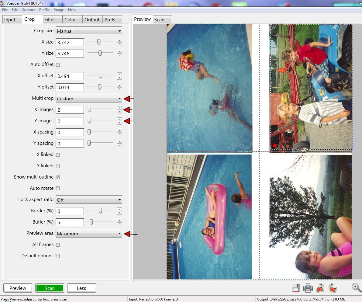 How to Scan Four Photos at Once Photo scan, Scanner app