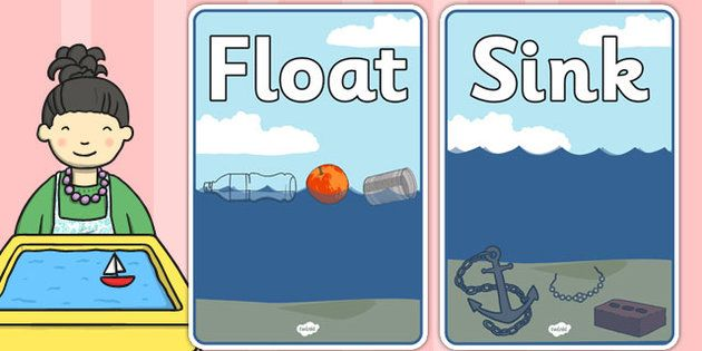 Floating And Sinking Clipart Clipartfest Preschool