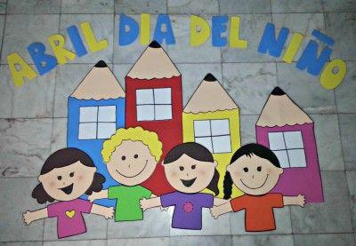 Periodico mural mes de abril 2 decoraci n de clase for Amenidades para periodico mural