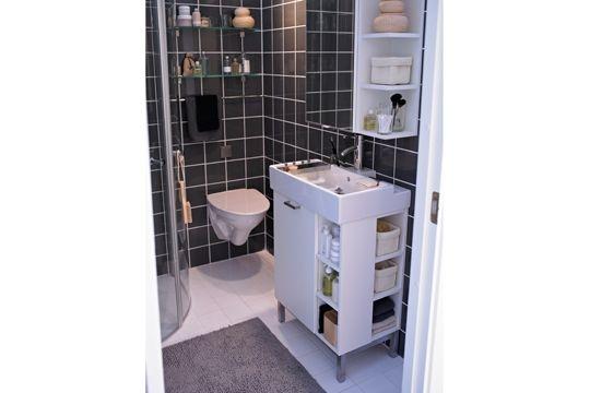 Petite salle de bains des solutions belles et pratiques for Petites baignoires ikea