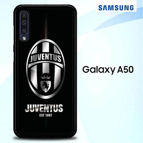 Juventus Logo Silver O1030 Samsung Galaxy A50 Premium Case