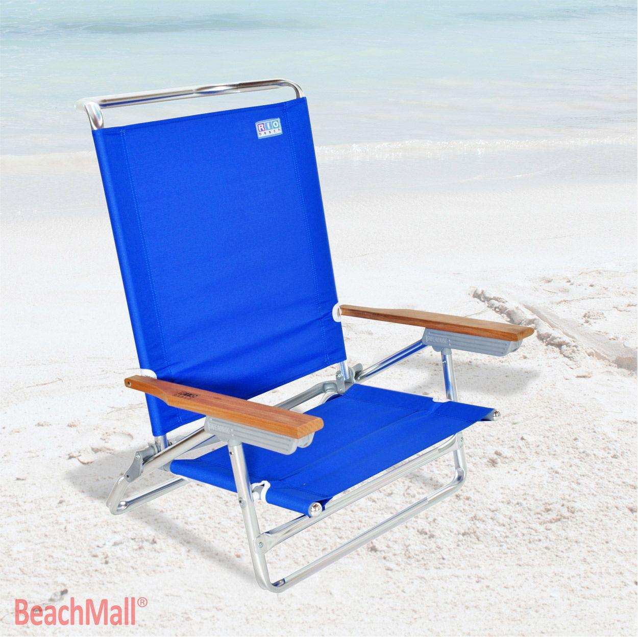 High Back Rio Beach Chair 5 position