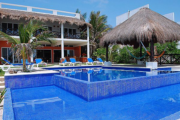 Akumal, Mexico beach house!  This is the house we stayed in last week!  So fun!