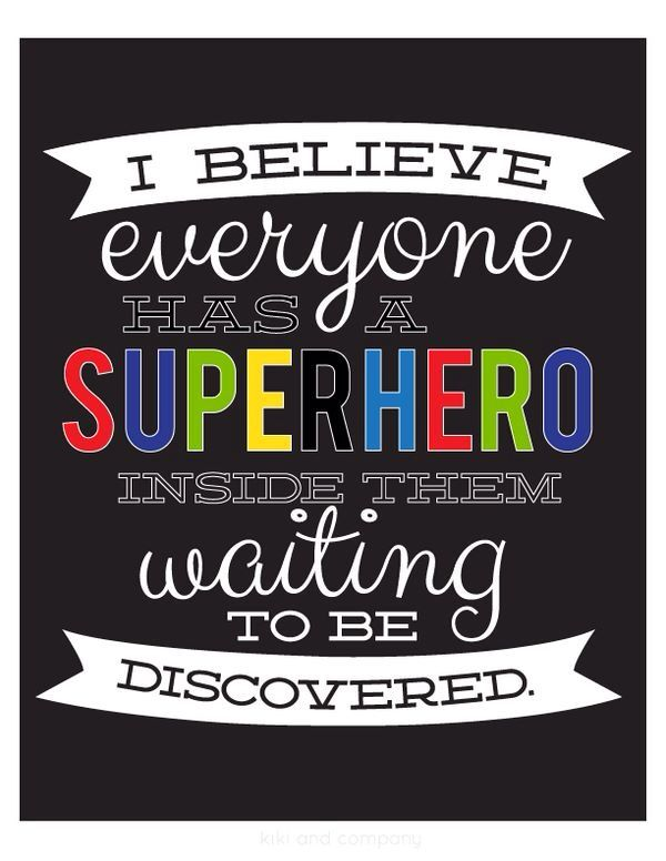 Image result for superhero quotes for students