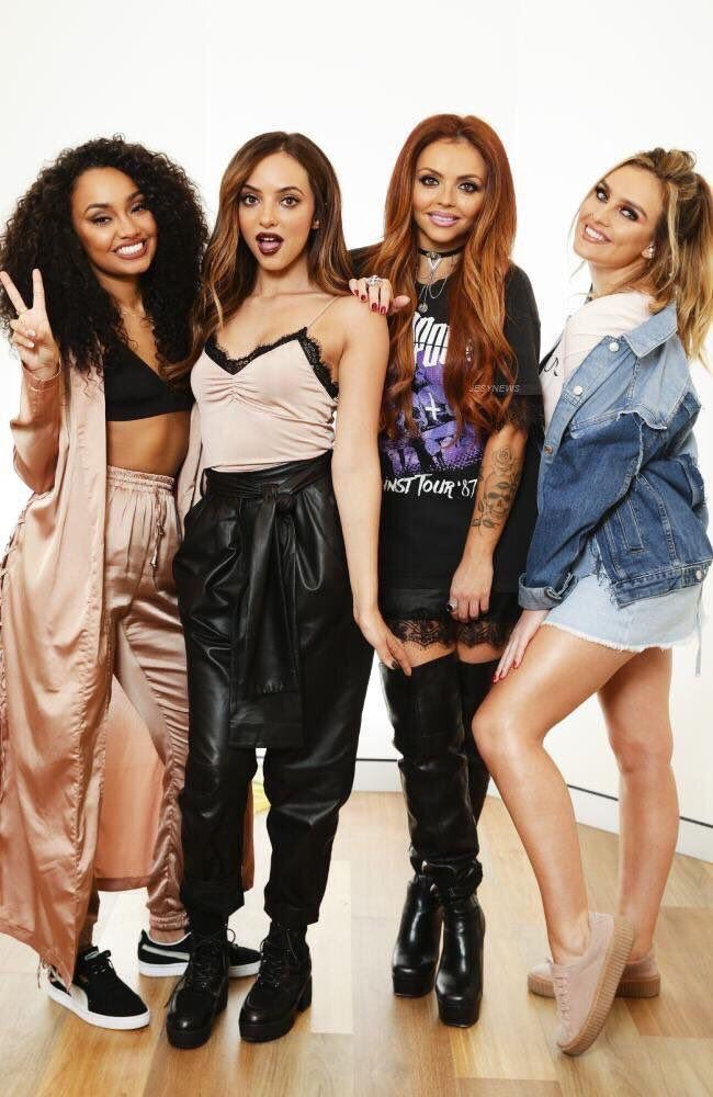the girls on sydney yesterday  little mix outfits little