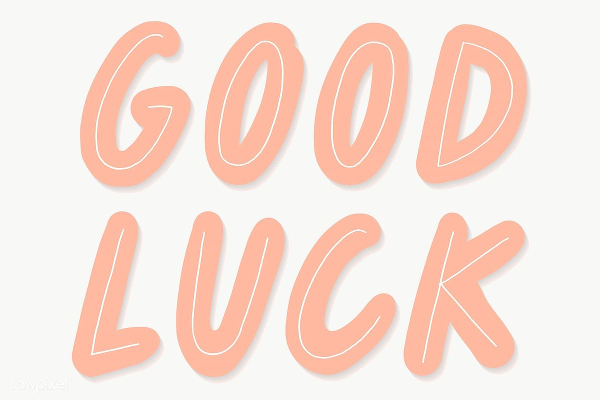 Pin By Vg On Fony In 2020 Luck Good Luck Typography