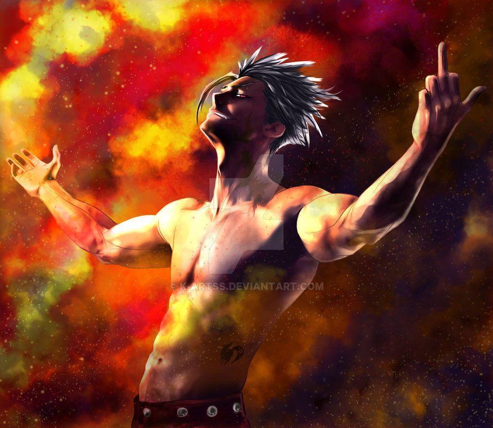 Ban Nanatsu no taizai fan art by K-artss on DeviantArt