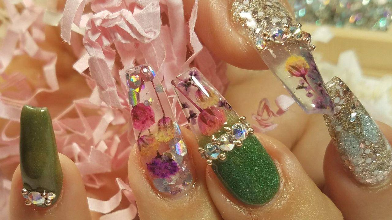 Uñas Acrilicas Primavera (Colección Mayas Nails) | uñas | Pinterest ...