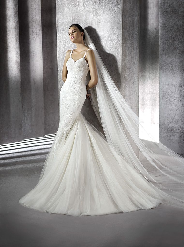vestido de novia modelo zamira | st. patrick 2016 | pronovias