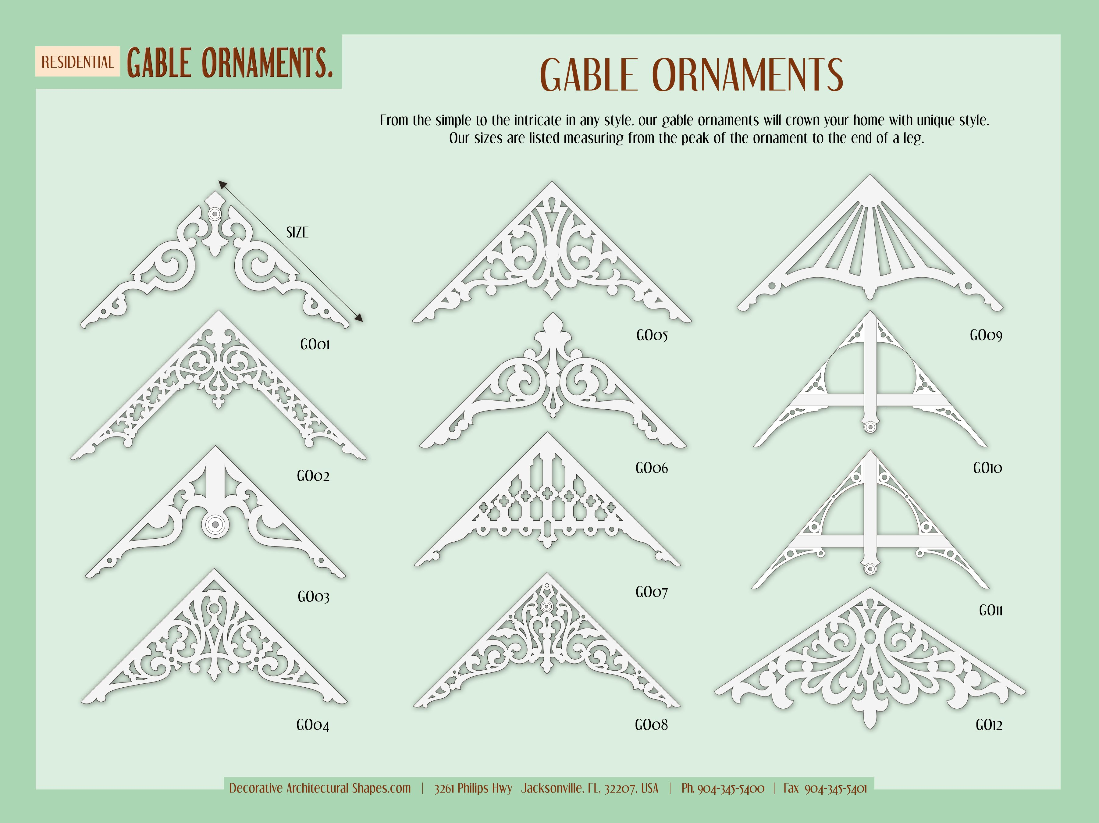 Pin By Decorative Architectural Shape On Decorative Architectural Shapes Catalog Gable Roof Design Outdoor Remodel Roof Design