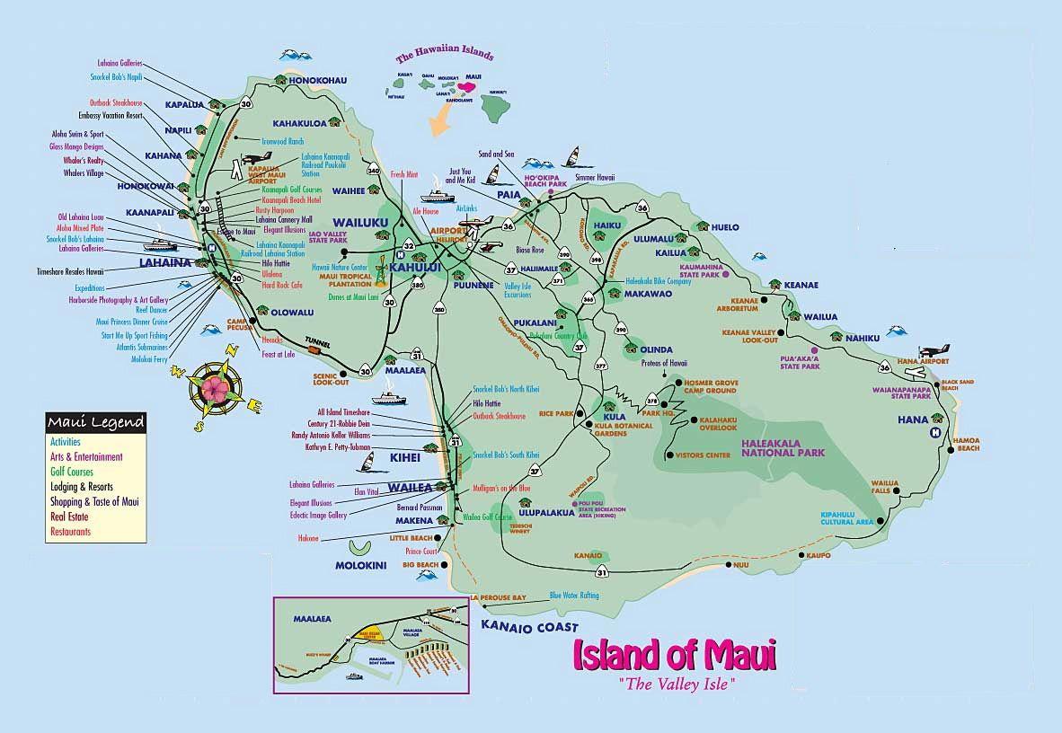 Loading Maui Map Maui vacation 2016 Pinterest Maui