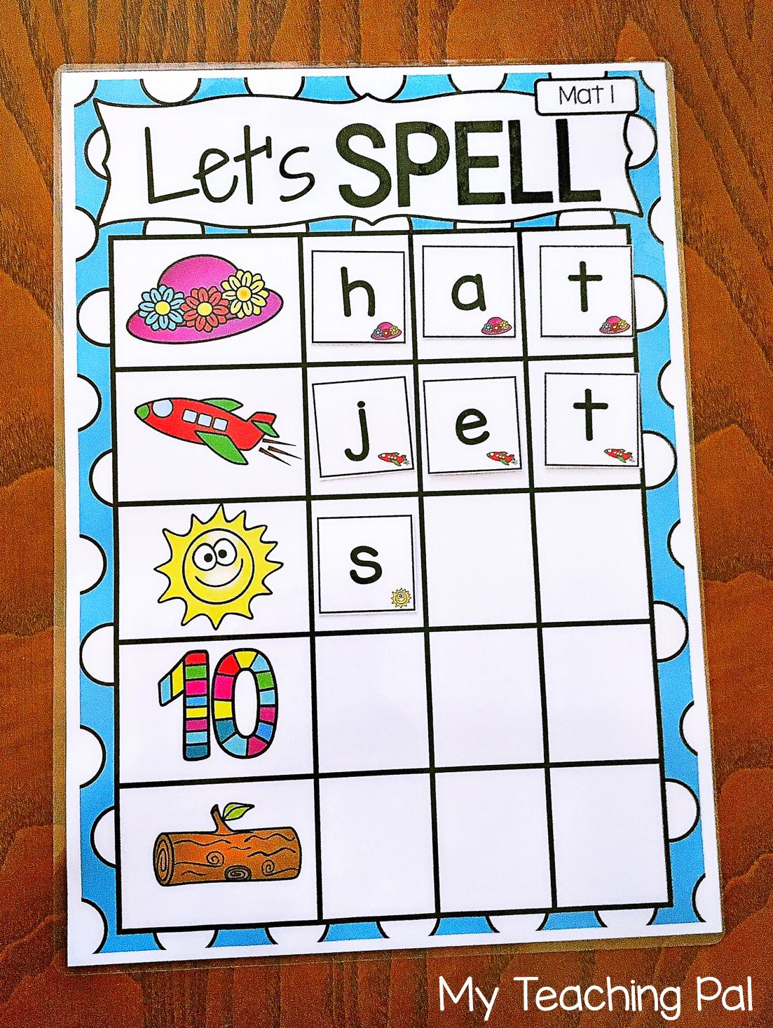 Spelling Literacy Center Activity Bundle