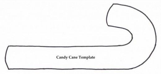 Candy Cane Template no time today Christmas crafts, Candy cane