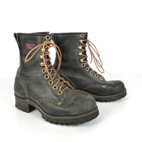 georgia leather boots