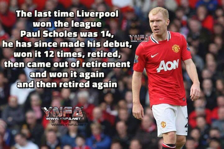 Paul Scholes Manchester United Manchester United Legends