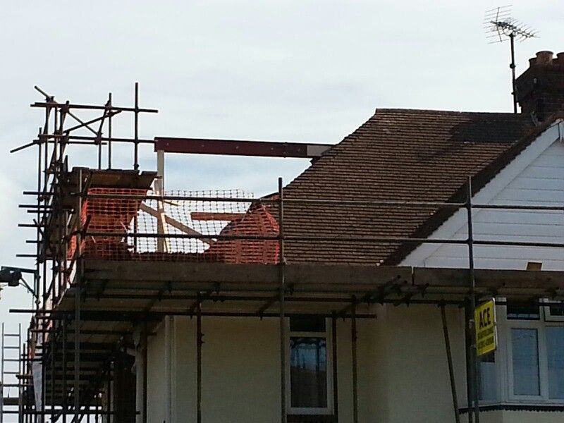 Hip To Gable And Flat Roof Dormer In Build By Attic