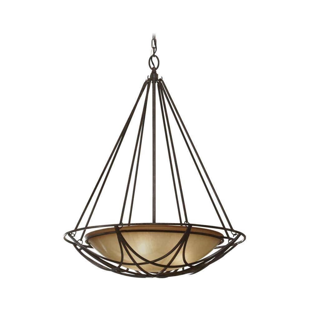glass lighting pendants. Bowl Pendant Light In Bronze Finish With Ivory Glass Lighting Pendants