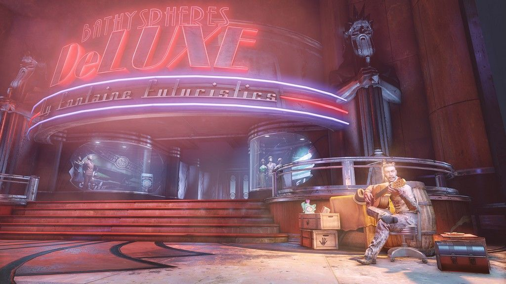 New Screenshots For Bioshock Infinite Burial At Sea Part Two