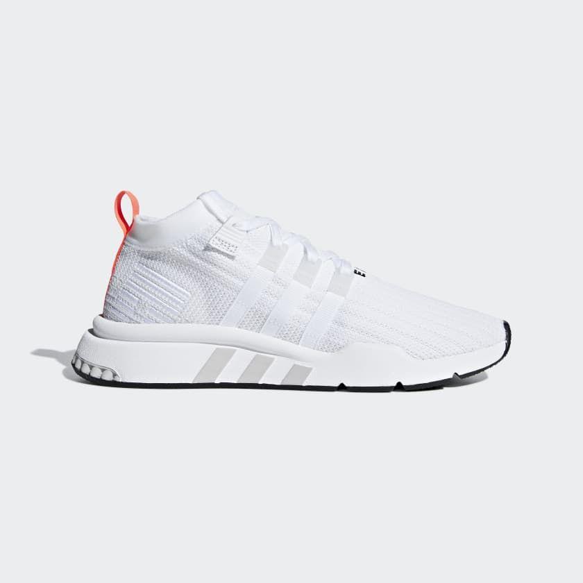 EQT Support Mid ADV Primeknit Shoes White B28133 | Adidas