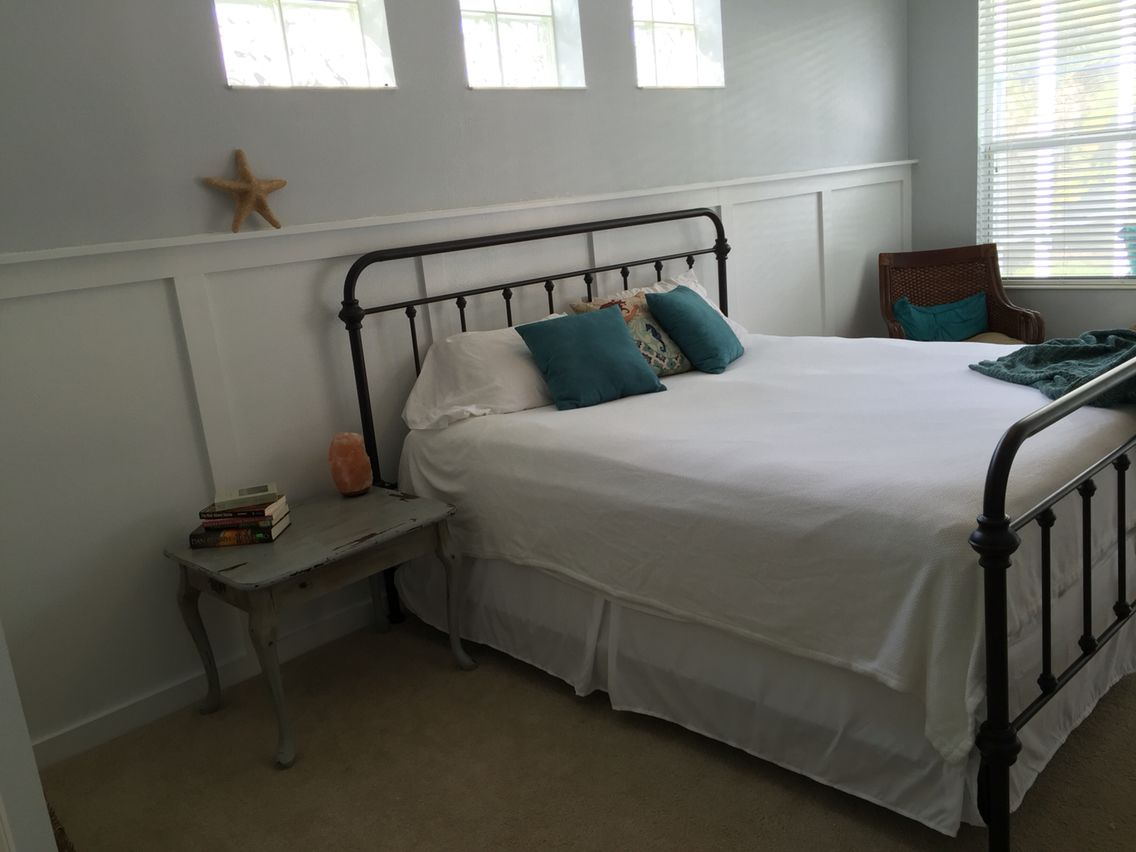 New master bedroom- Sherwin Williams Stone Eagle   Our house   Pinterest