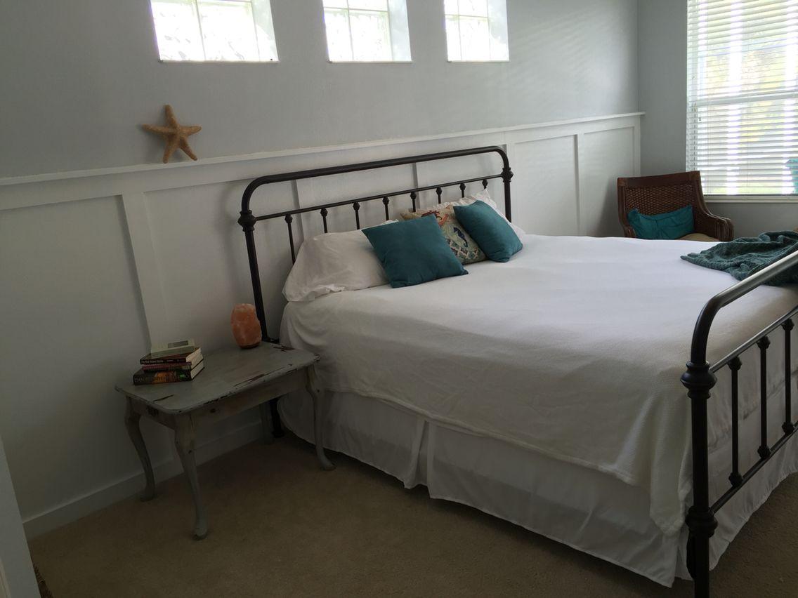 New master bedroom- Sherwin Williams Stone Eagle | Yellow ...