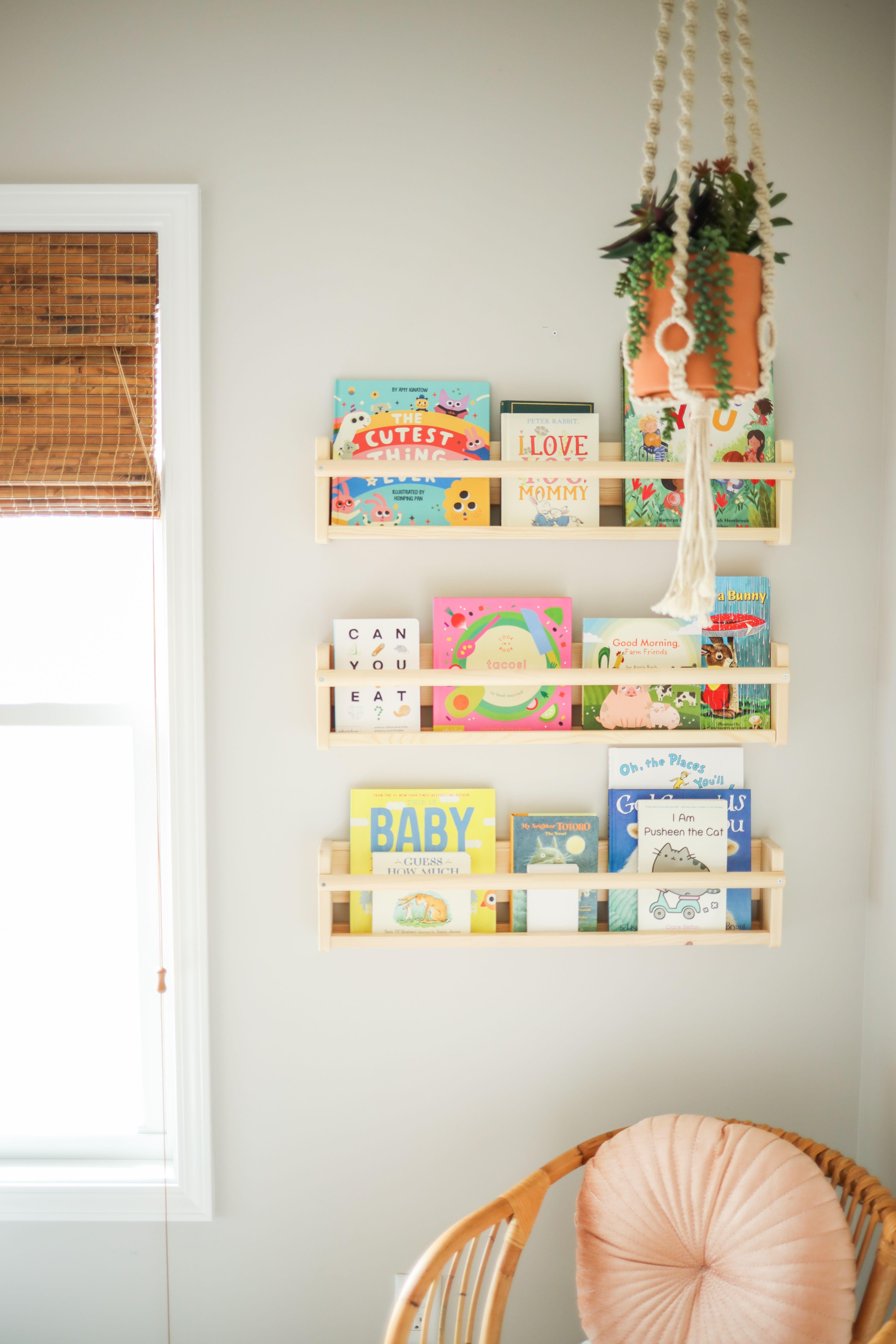 Nursery Book Storage Nursery Bookshelf Nursery Book Storage Nursery Book