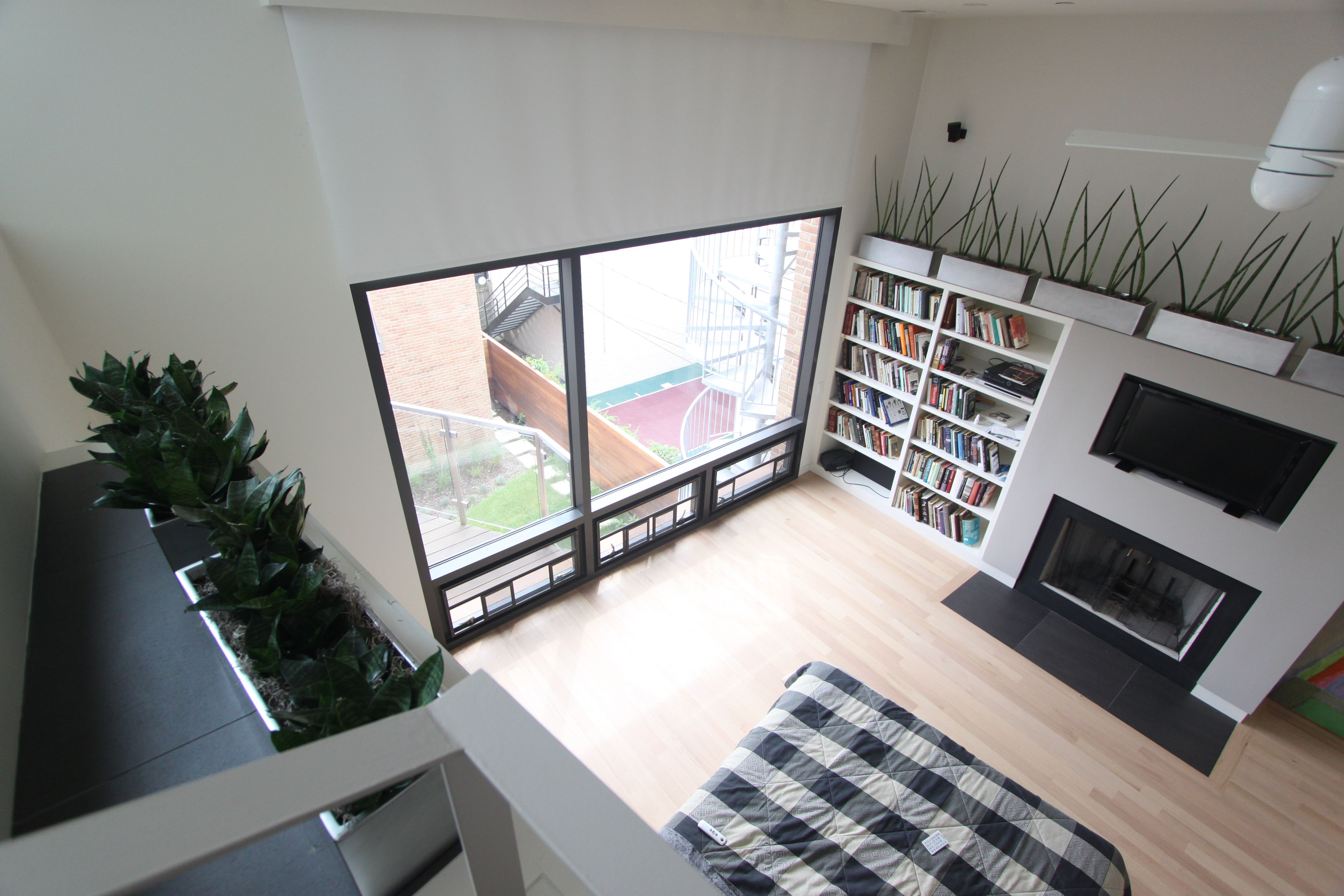 Birds Eye View Of Master Bedroom With Updated Interior Decor