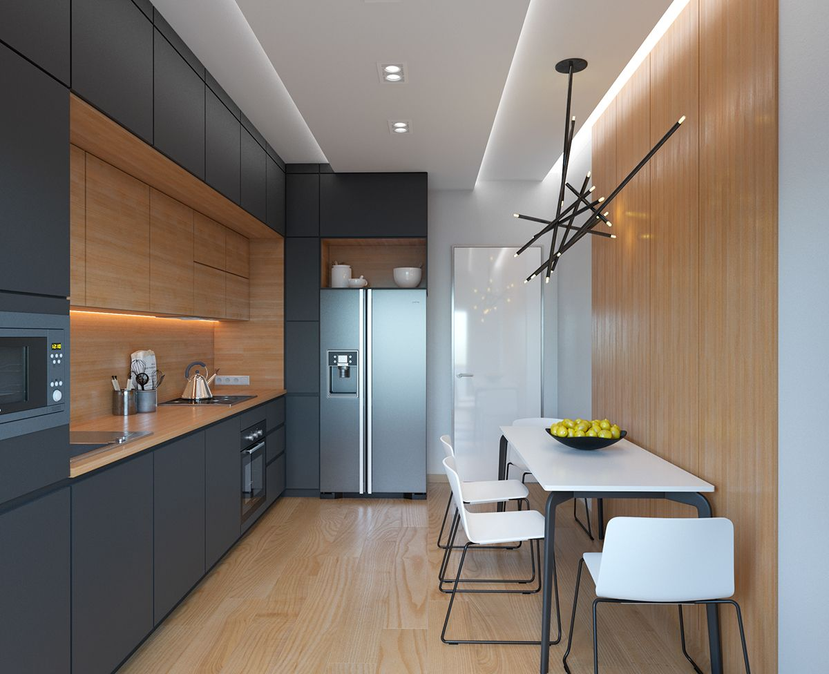 armario em duas profundidades | cozinha | Pinterest | Küche ...