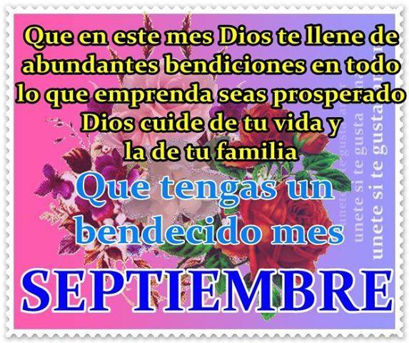 Bienvenido Septiembre Frases Cristianas Bienvenido