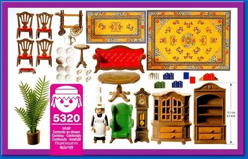 Playmobil 5320 Dining Room Play Mobile Playmobil Jeux Enfants