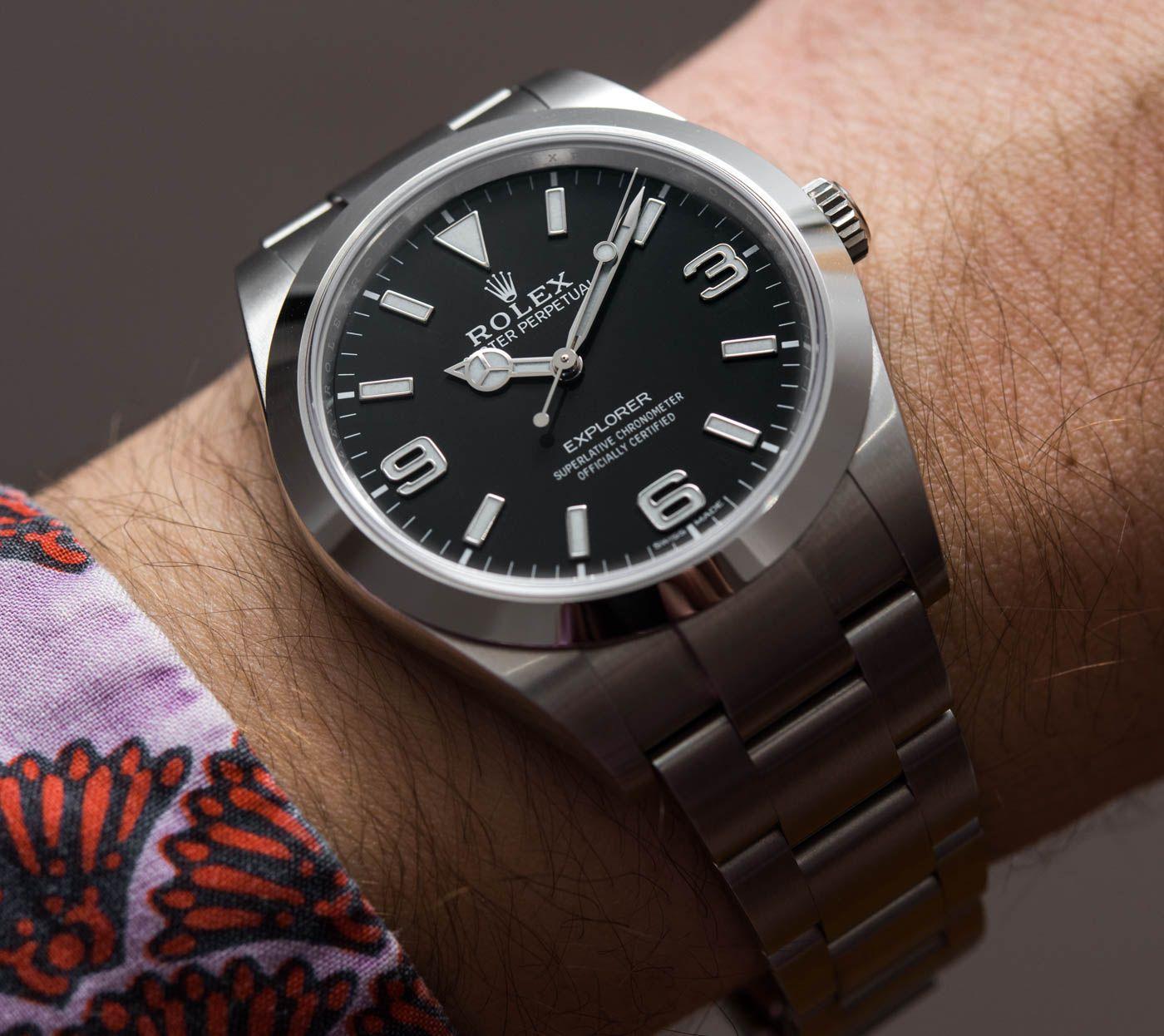 Rolex Explorer I 214270 39mm Review Wrist Time Reviews w 2019