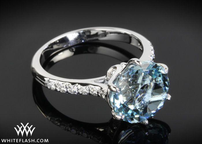 LOVE aquamarine rings