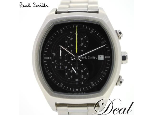 Paul Smith - Stainless Steel Chronograph with Black Face