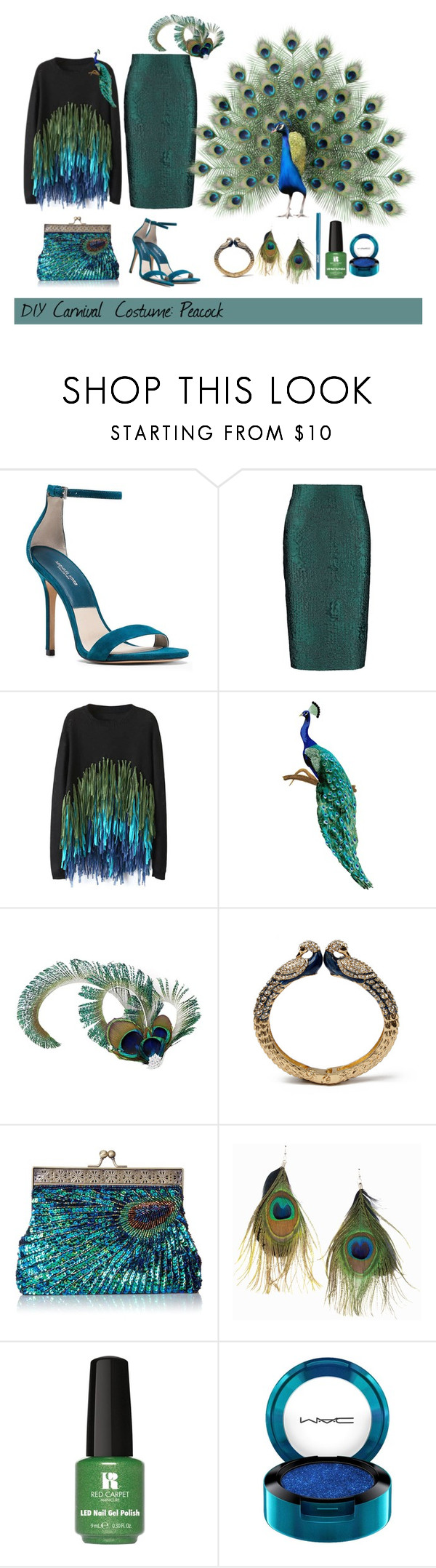 """""""diy carnival costume"""" by polychampion-805 ❤ liked on Polyvore featuring Michael Kors, By Sun, Universal Lighting and Decor, Amrita Singh, Rut&Circle, Red Carpet Manicure, MAC Cosmetics, jane and DIY"""