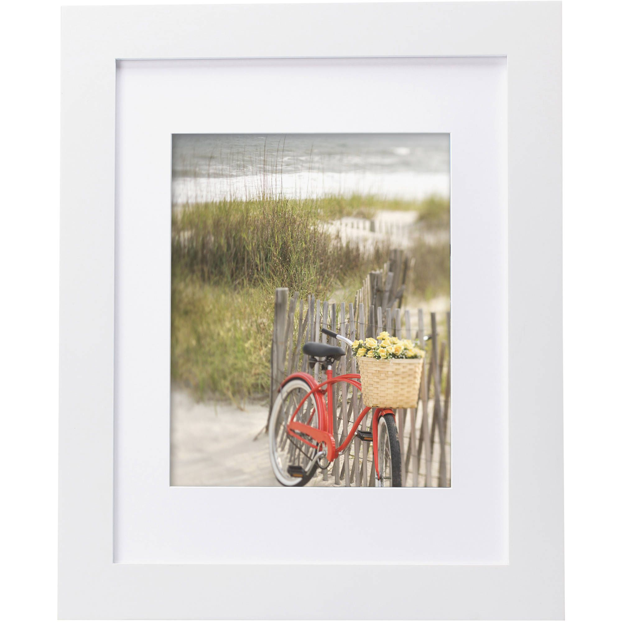 Free 2 Day Shipping On Qualified Orders Over 35 Buy Mainstays Museum 11 X 14 Matted To 8 X 10 Picture F White Picture Frames Picture Frames White Picture