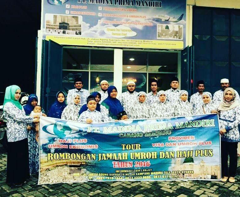 Pt Madina Prima Mandiri Cabang Sampang Madura Haji Plus