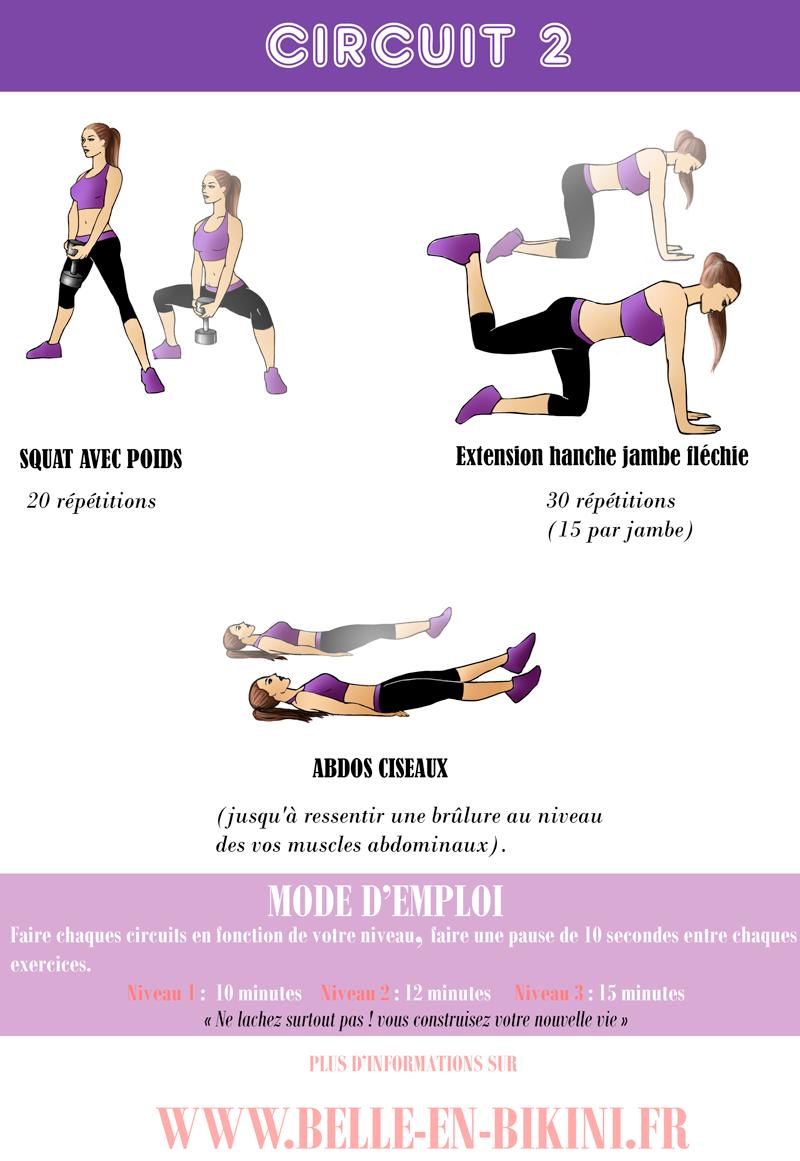 exercice remise en forme femme