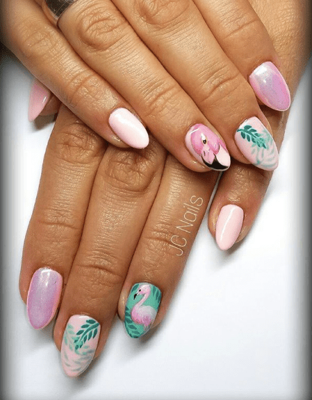 Pin By Brunooquendodokle On Ladne Paznokcie In 2020 Pink Nails Pink Acrylic Nails Barbie Pink Nails