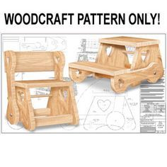 Peachy Childs Chair Step Stool Diy Woodcraft Pattern 2303 Build Ibusinesslaw Wood Chair Design Ideas Ibusinesslaworg