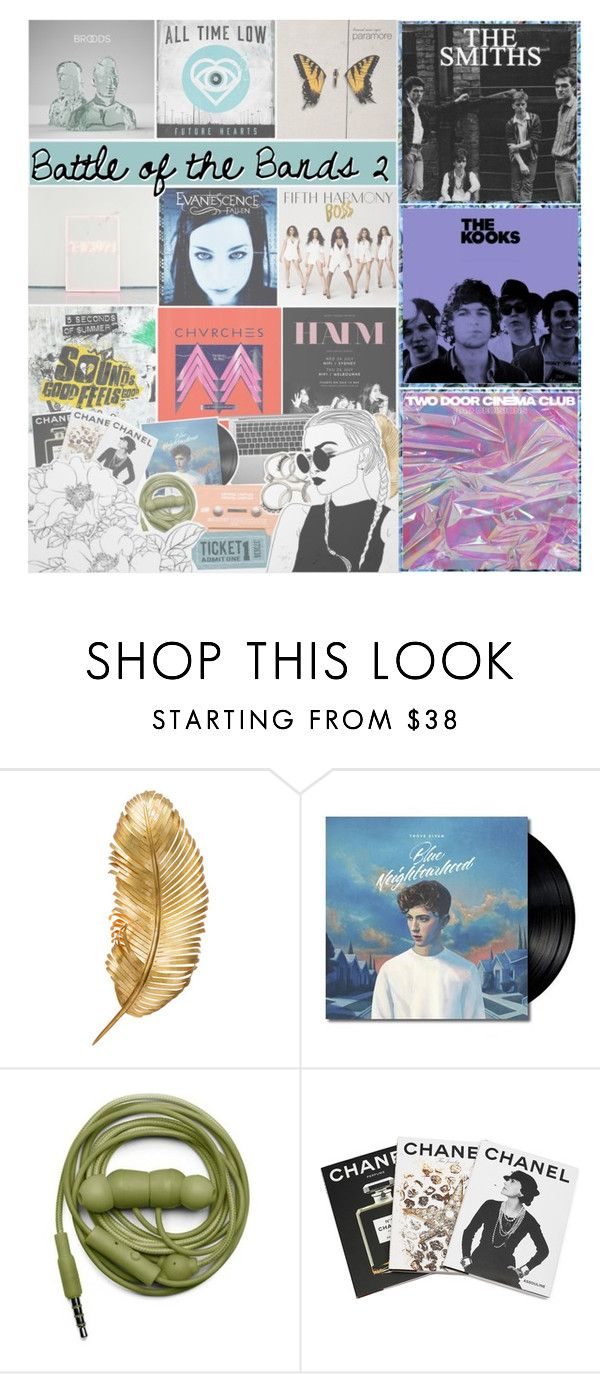 """""""AUDITION ⚘"""" by d0ntblink ❤ liked on Polyvore featuring Shine by S.H.O, Urbanears and Assouline Publishing"""