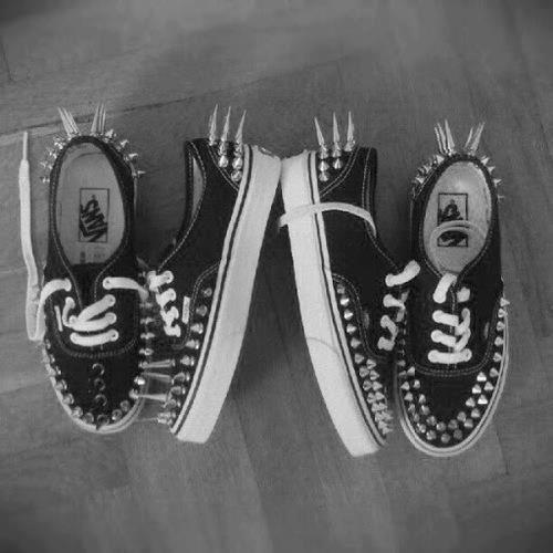 spiked vans. | Shoes, Vans, Sneakers