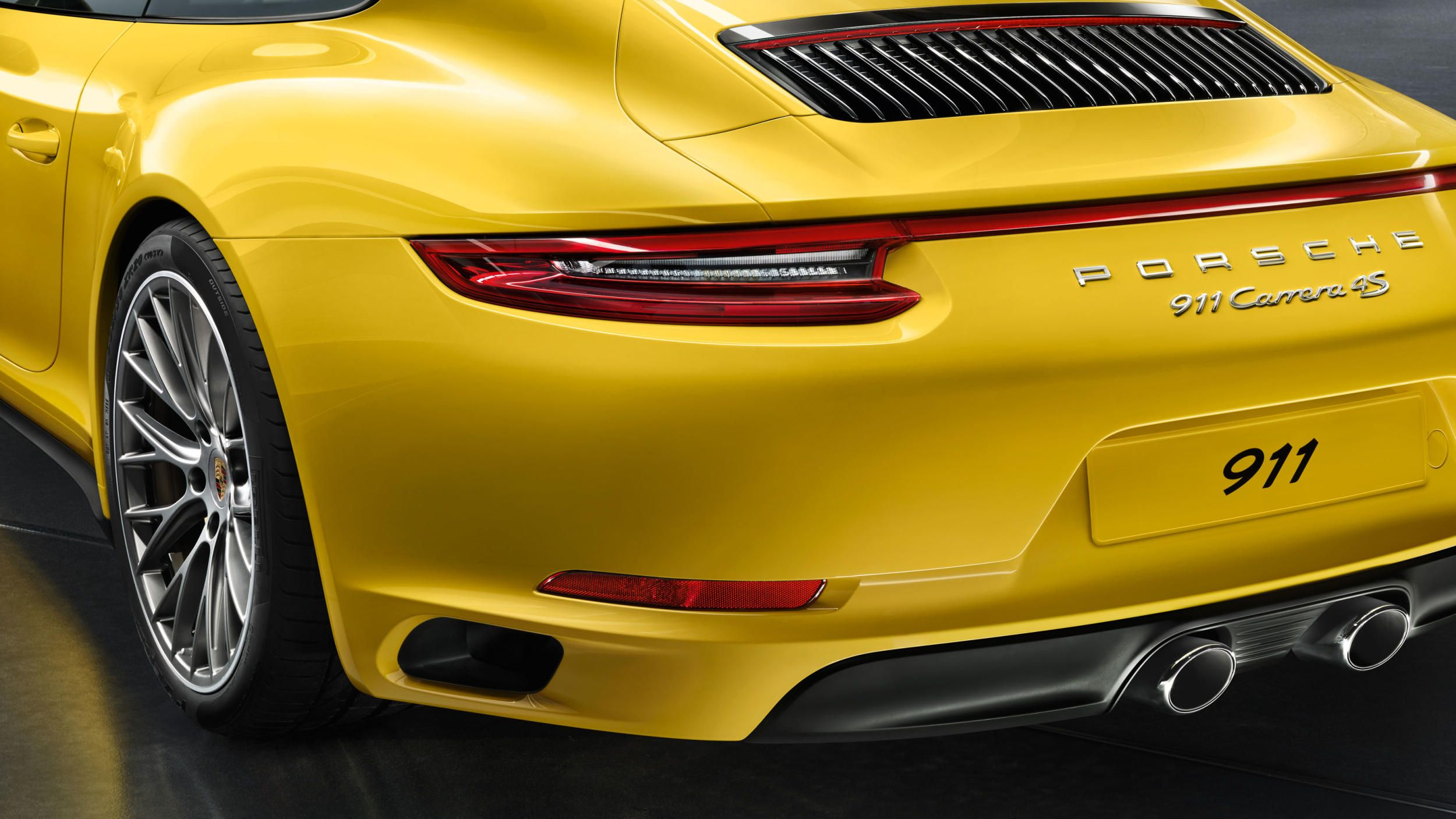 Porsche S All Wheel Drive Models Get A Bold Refresh Pinterest
