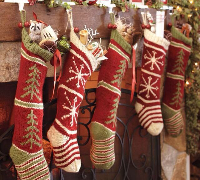 The stockings are full to bursting!