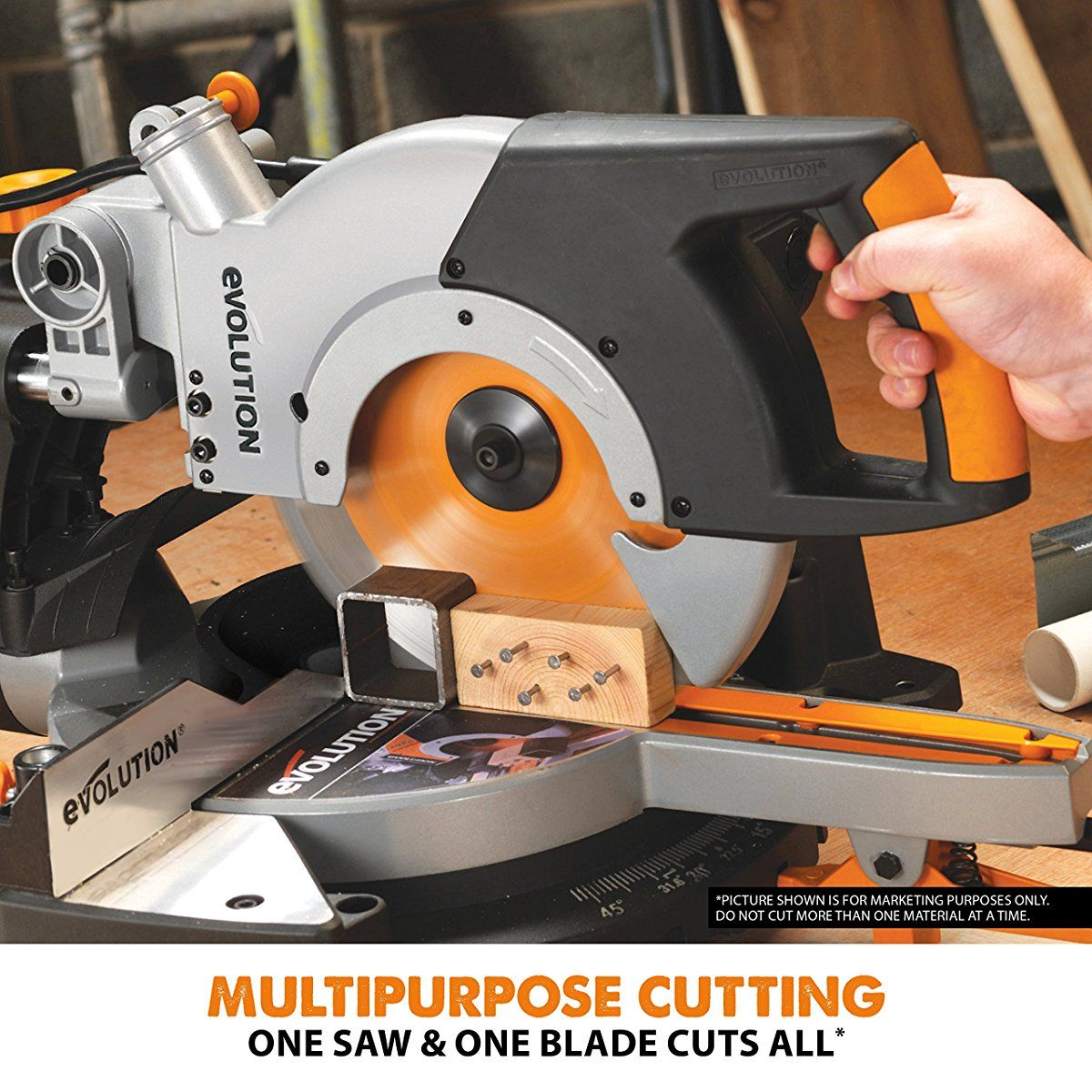Pin On Compound Miter Saw