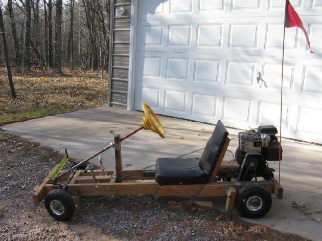 Wooden Go Kart With Gas Engine Tren Delantero Go Kart Wooden Go