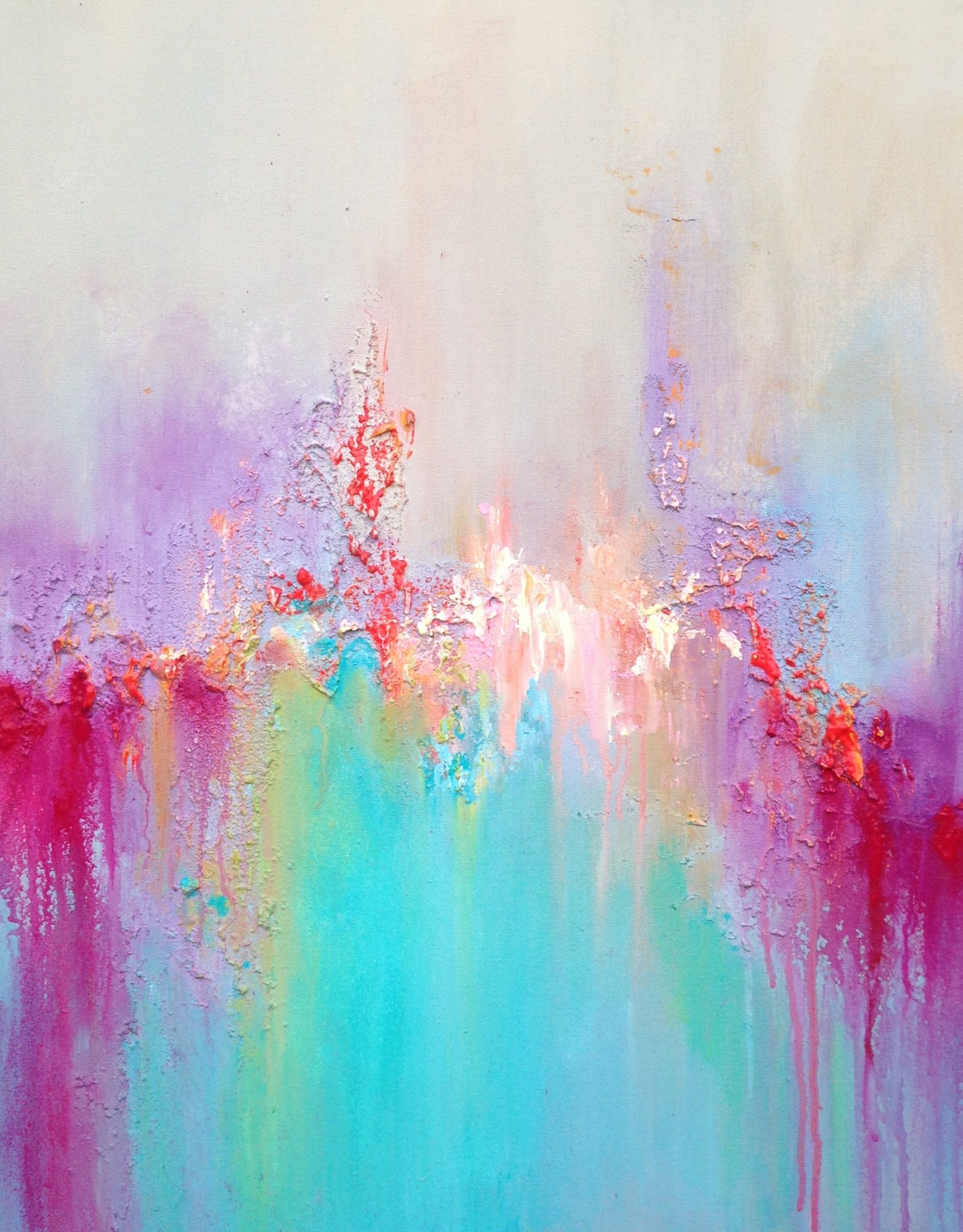 Those Colours Are Fabulous By Anja Art Anjaart Canvas