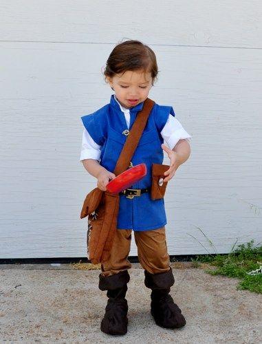 flynn rider kid halloween costume