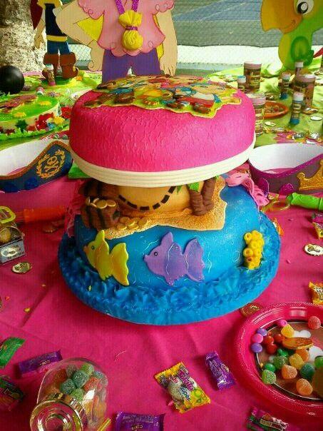 Torta De jake y los piratas