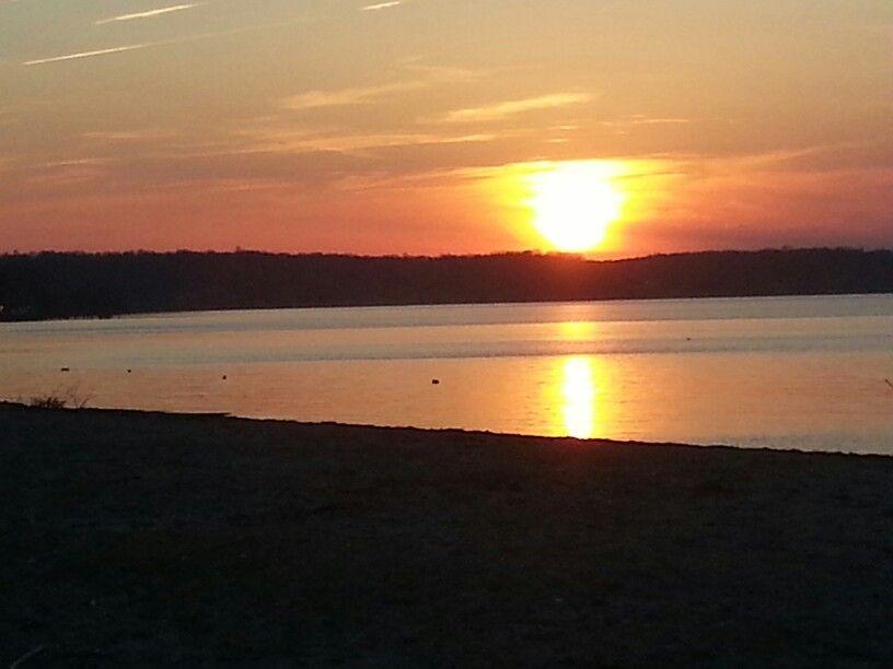 Sunset, Fairview Beach, Potomac River