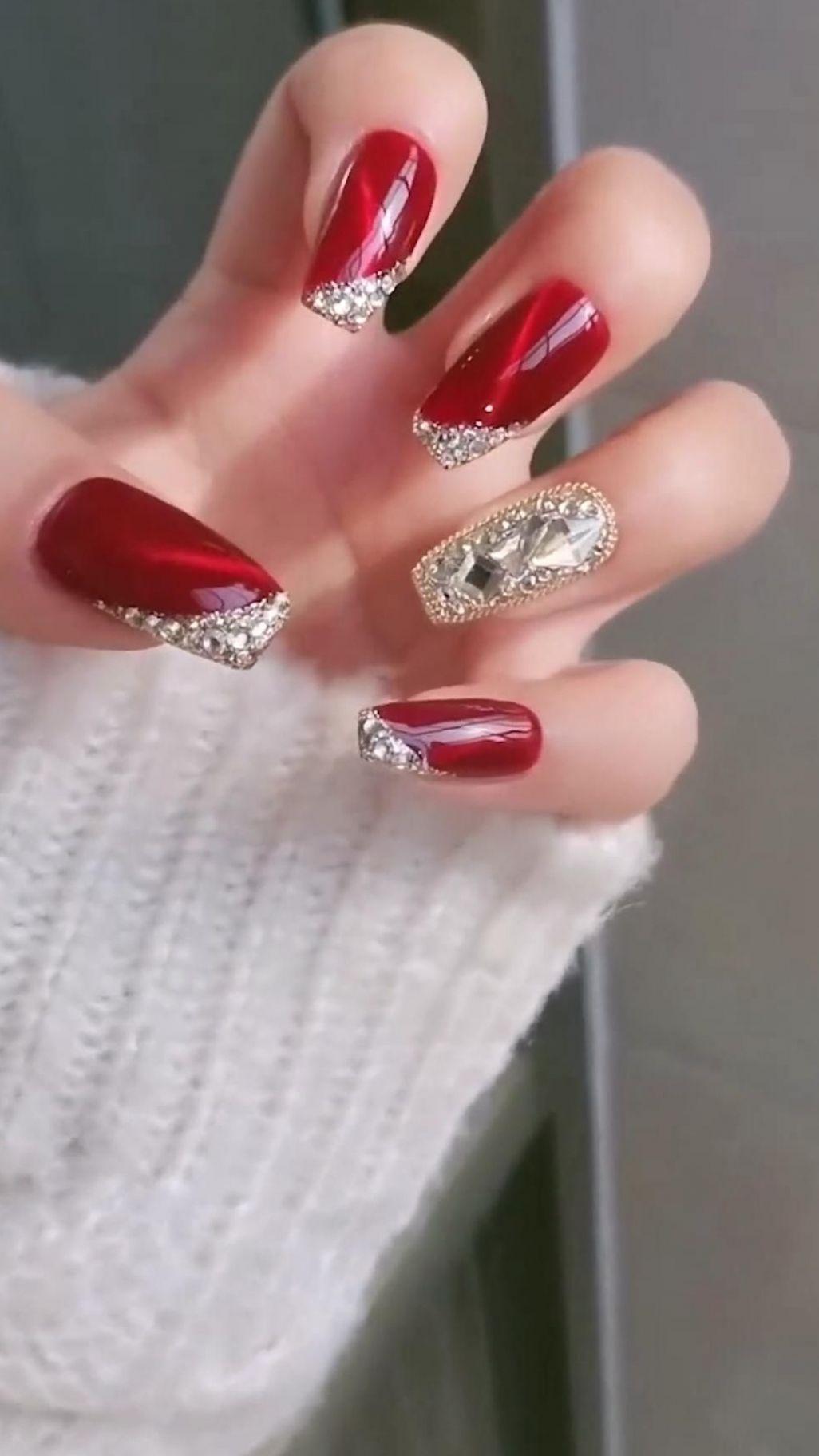 unhas decoradas unhas decoradas #christmasnail #ch